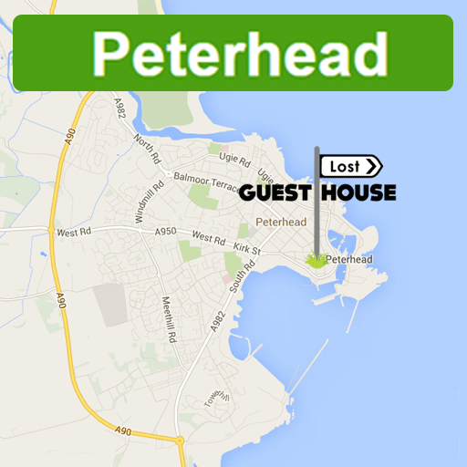 Peterhead map